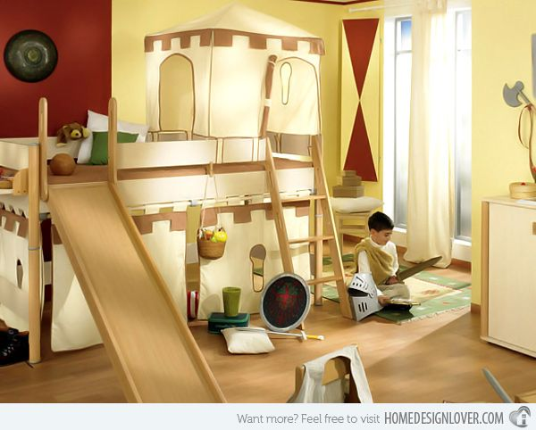 Marvelous Making Children Happy with Paidi us Creative Bedrooms
