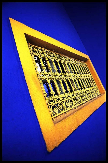 Majorelle Primaries by Tony Browne, via Flickr