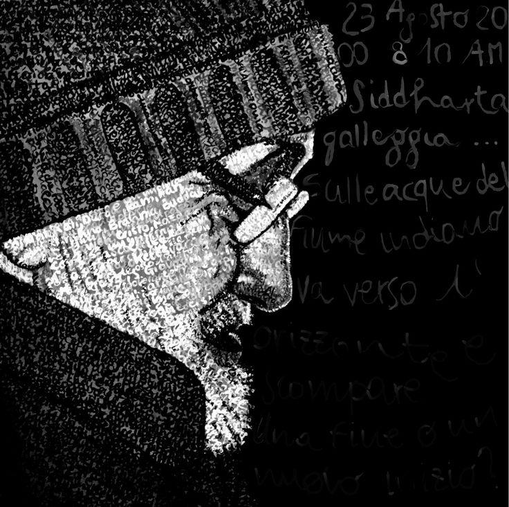 Anna Lopopolo. Franco Bianchessi #francobianchessi #annalopopolo #paintedwords #lopopolo #frank #bianchessi
