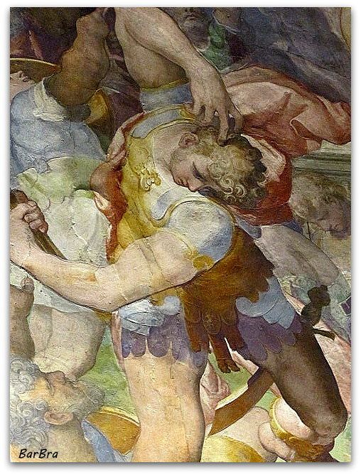 "Marco Pino da Siena nell'Oratorio del Gonfalone - ""Resurrezione"" - ZIBALBAR-foto http://zibalbar-foto.overblog.com/2014/04/buona-pasqua.html"