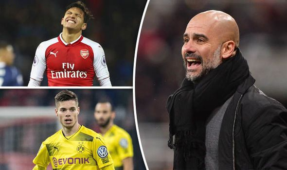 Man City transfer news: Sanchez Weigl Cavani... Who could Guardiola sign in January?    via Arsenal FC - Latest news gossip and videos http://ift.tt/2EsyGEf  Arsenal FC - Latest news gossip and videos IFTTT