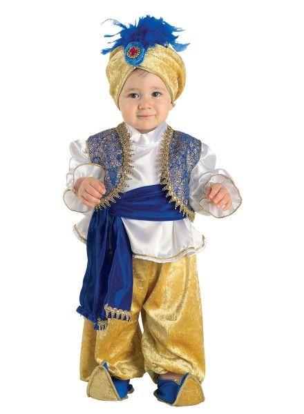 Kleiner arabischer Prinz, niedliches Kleinkinder Kostüm für Jungen. Mini-Sultan :-) #Kinderkostüm #Sultan #Karneval