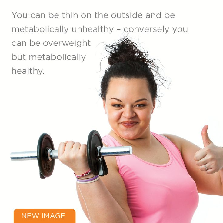 You  can be thin on the outside...
