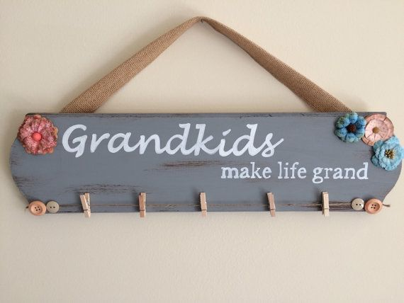 Gift for Grandma/ Gift for Grandparents/ by WeatheredFreeDesigns