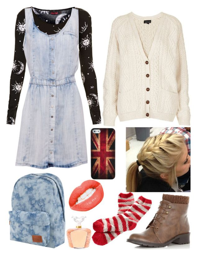 """Untitled #497"" by white-eskimofo ❤ liked on Polyvore featuring Motel, Pull&Bear, Topshop, Retrò, Vans, Simply Vera and Lalique"