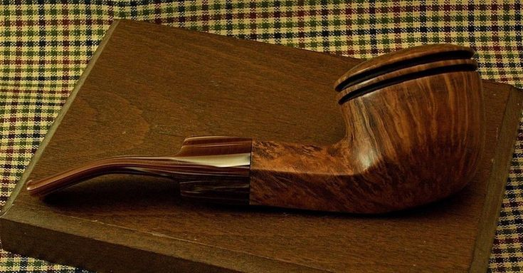 LARGE JM BOSWELL 2016 BENT ESTATE PIPE