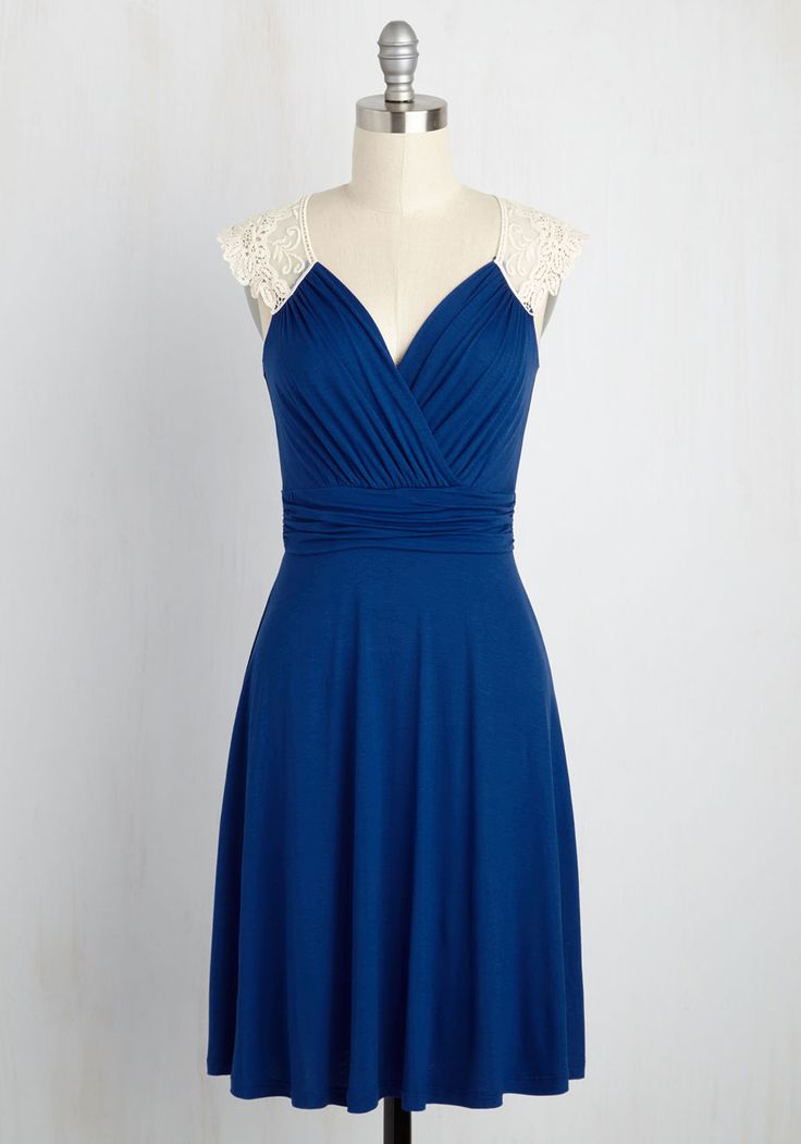 Blue dress like belle terre