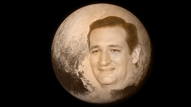 Ted Cruz Is Really Excited About Pluto. So Why Does He Want to Cripple NASA? | Mother Jones