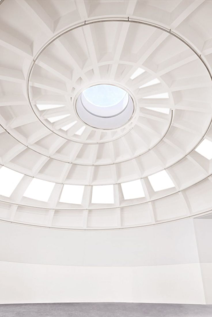 Rem koolhaas villa dall ava paris france 1991 atlas of - Inside Oma S Faena Forum The Drum Shaped Volume Is Topped By A Domed Ceiling