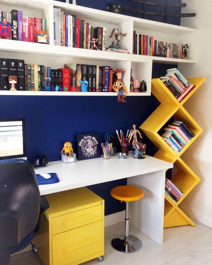 móvel dos livros para diferentes ambientes