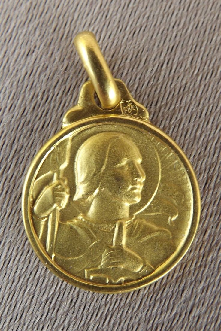 French vintage religious gold plated saint joan of arc medal pendant french vintage religious gold plated saint joan of arc medal pendant ebay religion and spirituality pinterest french vintage pendants and saints aloadofball Gallery