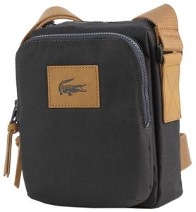 Lacoste Bag - Anthracite Camera Bag by Lacoste,