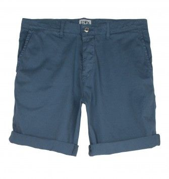 EDWIN RAIL BERMUDA SHORTS. Light Blue. £75.00