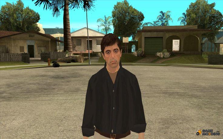 Скачать Тони Сиприани в костюме мафии Леоне для GTA San Andreas