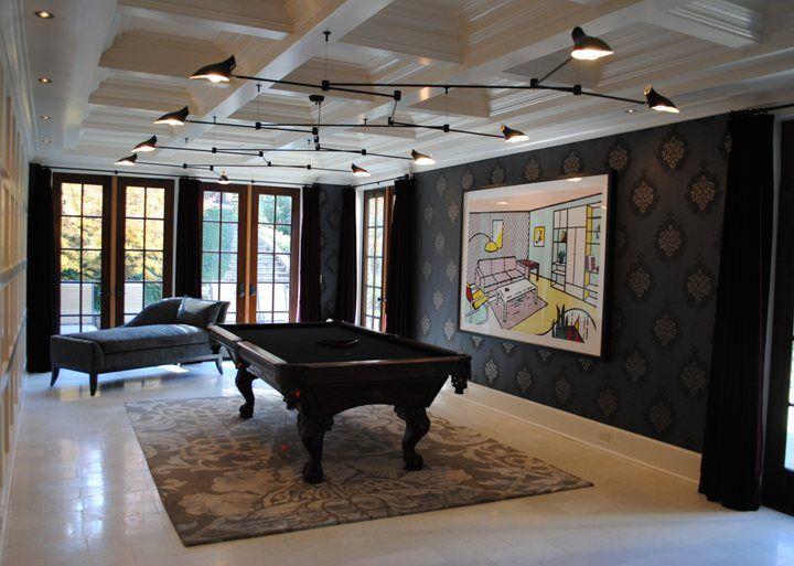 Custom Fixture, Jenny Wood Interior Design - Atlanta, GA // David Weeks Studio: Custom Lighting, Furniture and Accessories