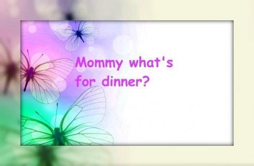 Black Forest Trifle: Mommy what's for dinner?