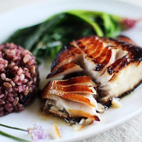 Nobu's Miso-Marinated Black Cod by apartmenttherapy #Black_Cod #Miso