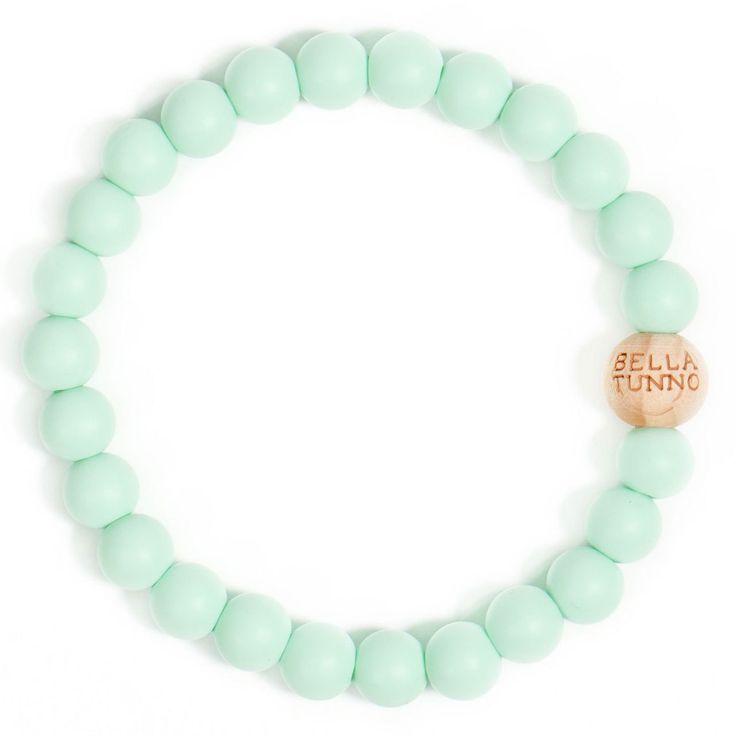 Mom's Teething Bracelet, Mint