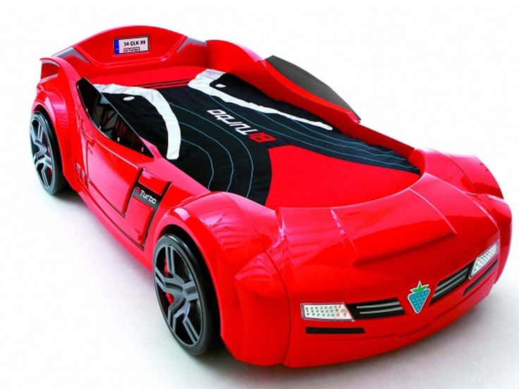 Fancy Car Beds for Kids Bedroom Design BiTurbo Sport Car