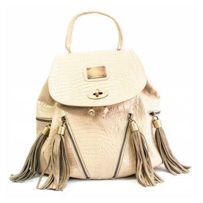 Hermosa mochila de Vale Canale!! #cuero #handmade