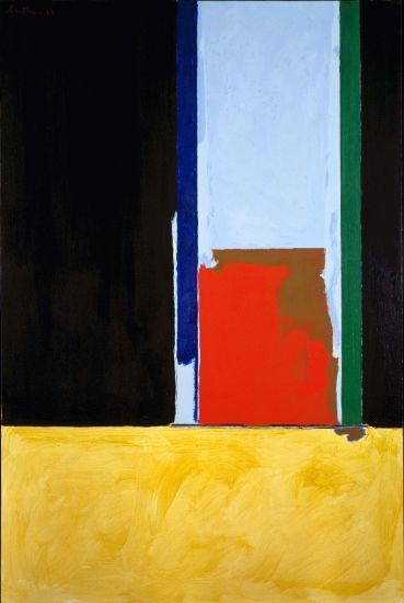 Robert motherwell, The Garden window, open n110, 1969