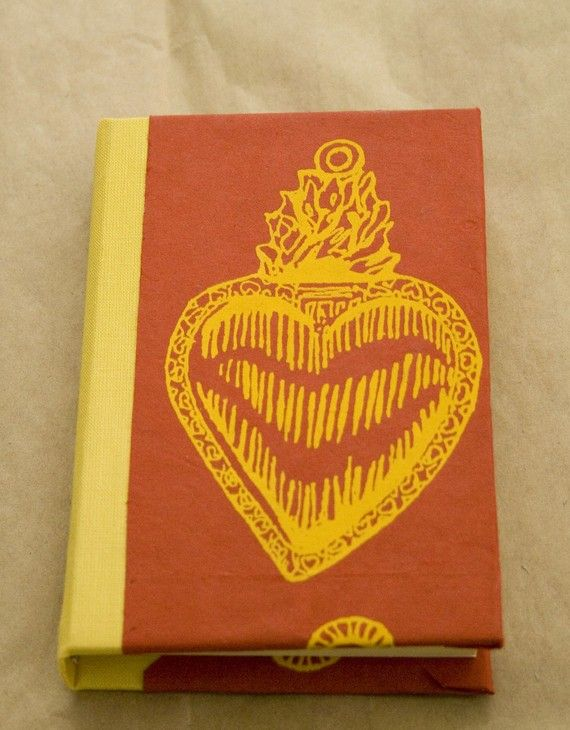 Heart Journal by LuciaGphotoandesigns on Etsy, $15.00