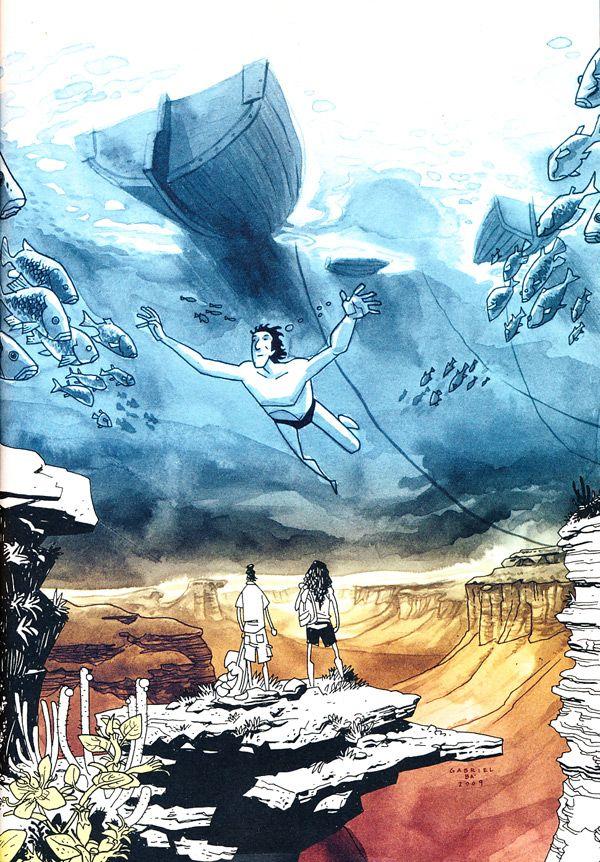 Daytripper by Fábio Moon & Gabriel Bá Graphic Novel