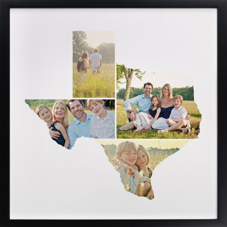 From Heather B on minted.  What a great idea for photos from states lived in or visited!  Brilliant!