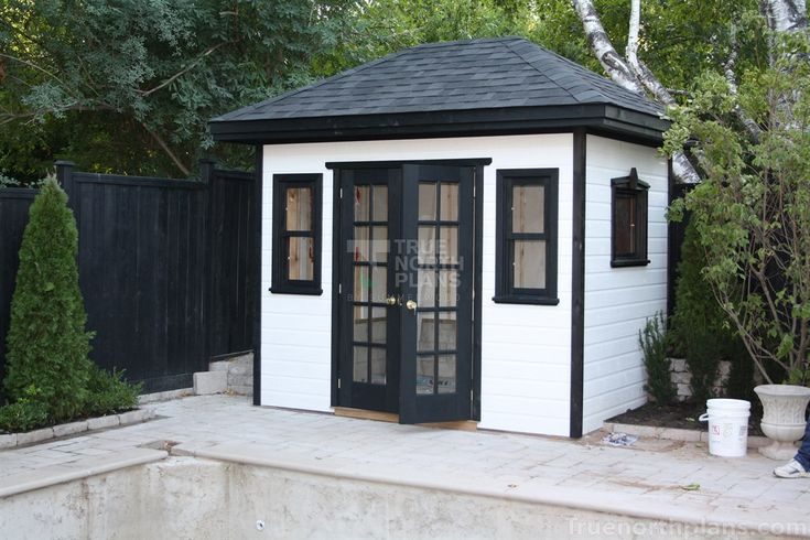 7' x 10' Sonoma garden shed plan