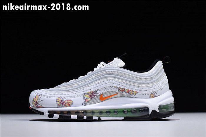 online retailer dbc3e 03c02 Nike Air MAX 97 WMNS White Orange 921733-101   Nike Air Max 97 ...