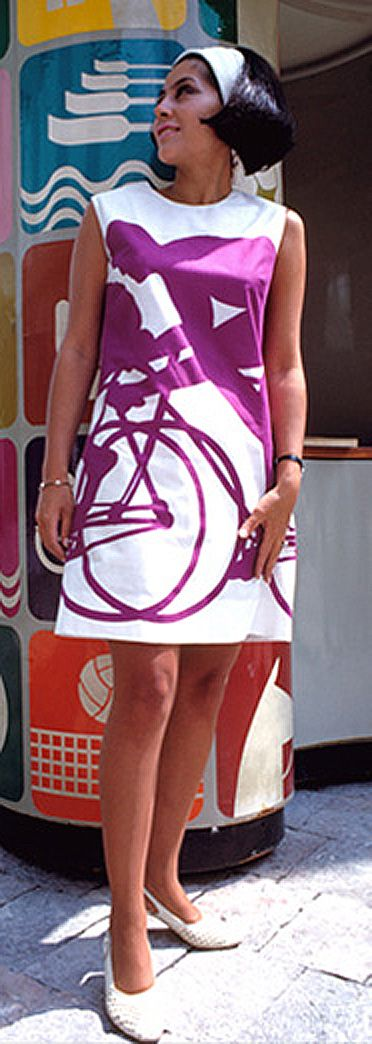 Mexico 1968 Olympic Host Dress - Lance Wyman, Beatrice Colle, Jose Luis Ortiz, Jan Stornfeld