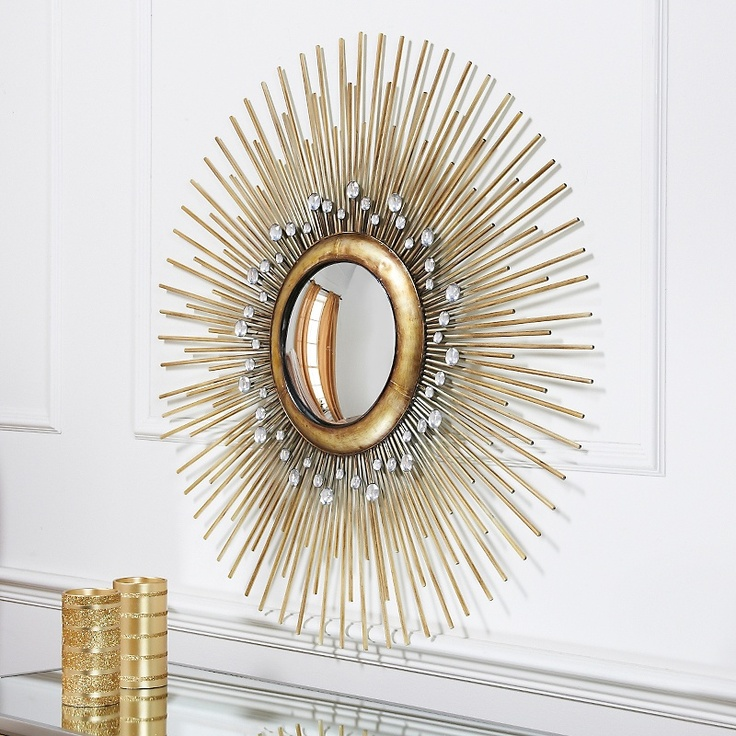 Starburst Wall Decor Mirror: Colin Cowie Starburst Wall Mirror