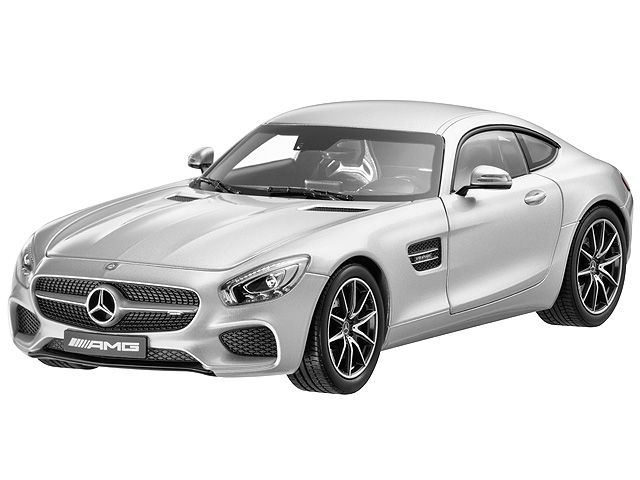 AMG GT S iridium silver 1:18 - B66960342  The Mercedes-AMG GT S sports car certainly deserves a place in the model car range. This miniature model in diecast zinc is impressively detailed and is finished in an authentic paintwork colour.