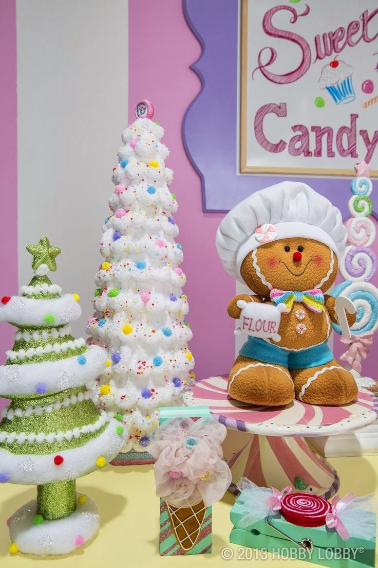 Hobby Lobby Sweets and Treats 2013     It seems that Christmas comes earlier in the stores each year.  Hobby Lobby has got everyone bea...