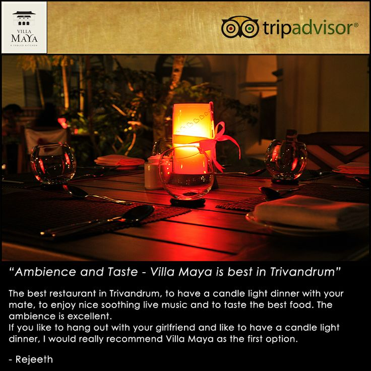At Villa Maya TVM, we strive to deliver the best to every customer. Feedback as kind and humbling as this makes us aspire for better than our best. Thank you for the love and appreciation. :)