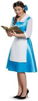 PartyBell.com - Beauty and the Beast Belle Blue Dress Adult Costume