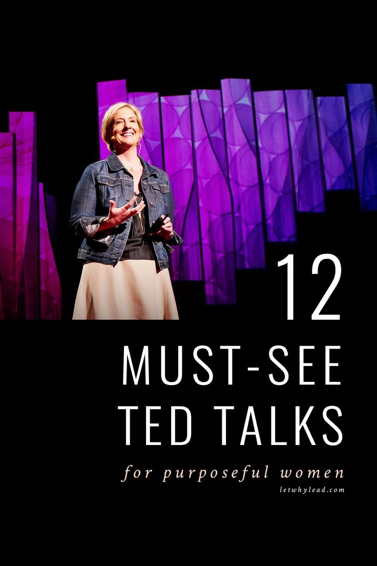 12 Must-See TED Talks for Women
