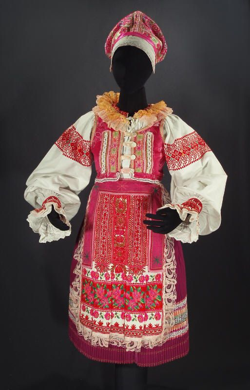 Complete Woman's Slovak Folk Costume from Helpa by ethnicdress, $500.00