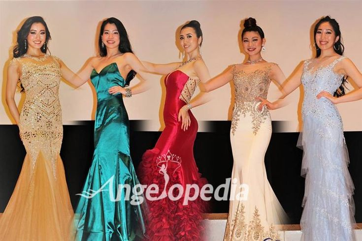 Miss Supranational Japan 2017 Contestants Dazzled In Evening Gown Preliminary Round