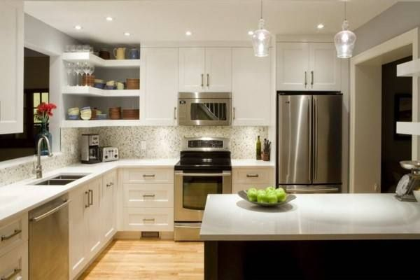 New Kitchen Ideas That Work Beautiful Wood Paneling And Floors To Contrast With The Kitchen Design New Kitchen Small Rustic Kitchens