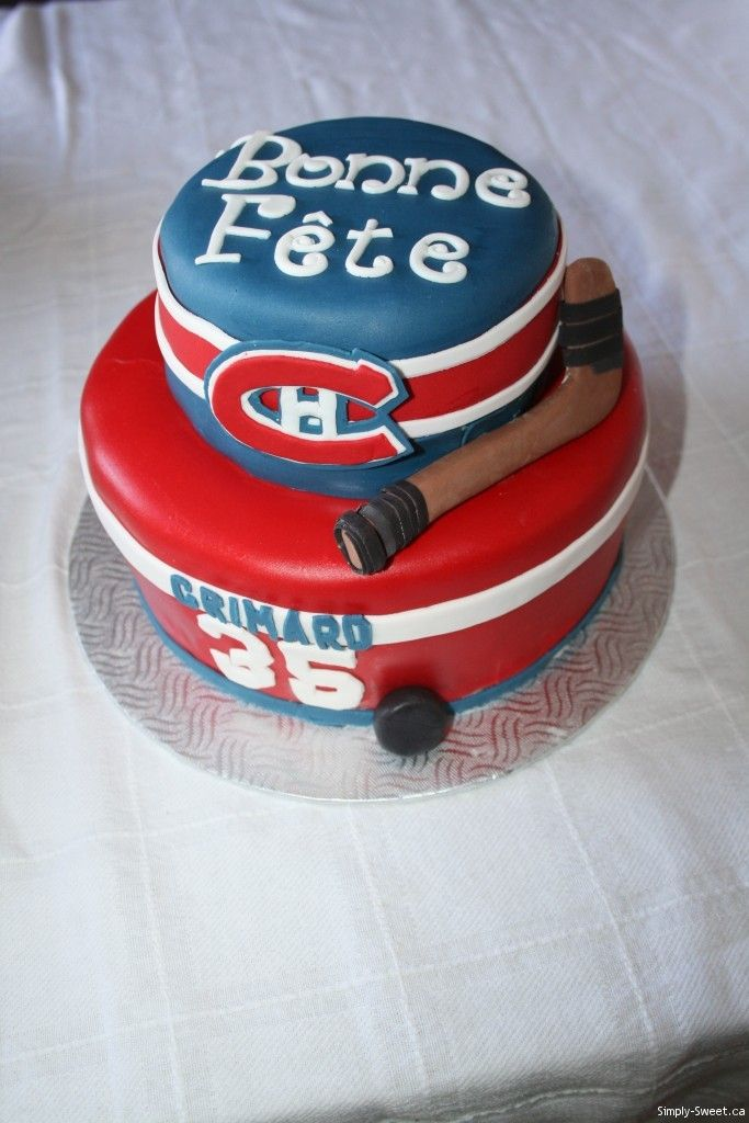 29 Best Montreal Canadians Cakes Images On Pinterest Montreal