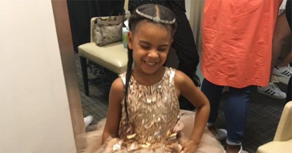 Prepare to Smile: Watch Blue Ivy Carter Own the Stage in this Yummy Ballet Recital Video via @PureWow