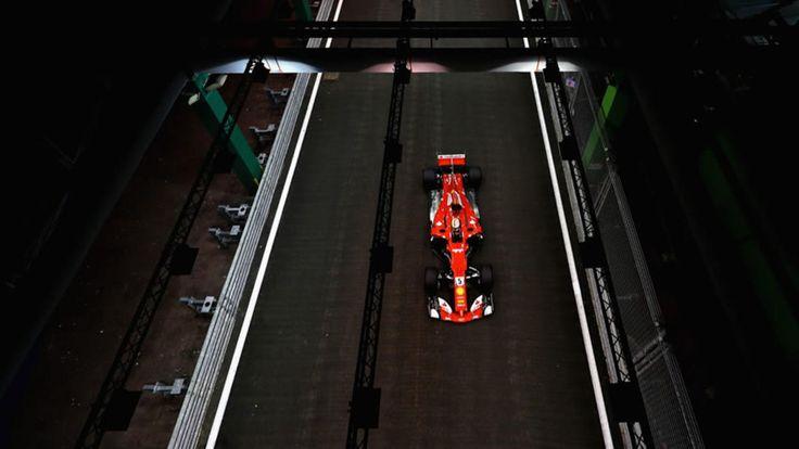 Vettel se llevó la pole en Singapur; Hamilton quedó quinto - Medio Tiempo.com