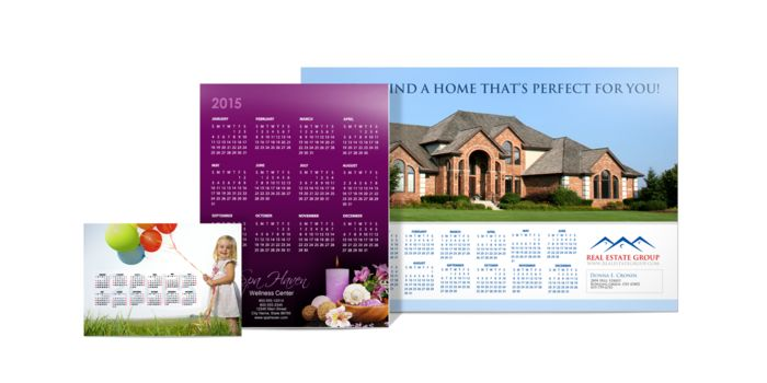 Advertisements, images, or other helpful information engages customers as the year rolls on. Print 2015 calendar today....http://www.printearly.com/products/calendars