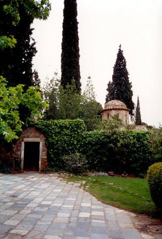 Kaisariani Monastery and the #aesthetic #forest around it....just a breath away from the center of #Athens