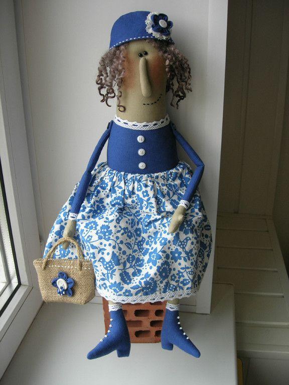 Куклы Анны Поляковой/кукла бабулька