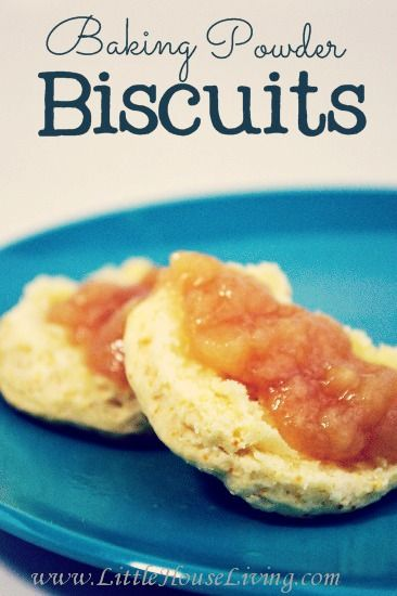 Here's a great, simple recipe for old fashioned Baking Power Biscuits!