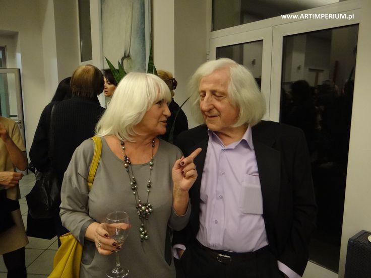 Janusz LEwandowski i Bożenna Leszczyńska