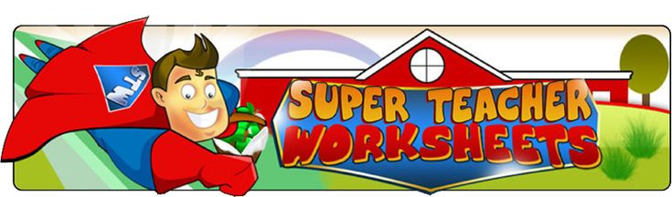 Super Teacher Worksheets: generatore di schede operative