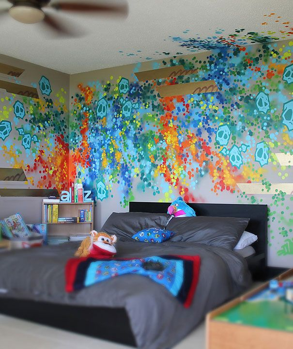 17 best ideas about graffiti bedroom on pinterest for Graffiti bedroom designs